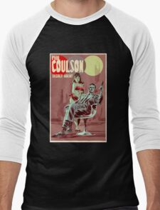 Phil Coulson Secret Agent Men's Baseball ¾ T-Shirt