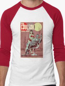 Phil Coulson Secret Agent Men's Baseball ¾ T-Shirt