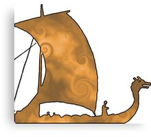 Viking Voyage Canvas Print