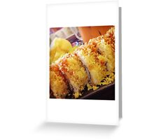 Crunchy Roll ~ Personal Photography Collection Greeting Card