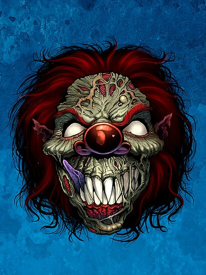 Evil Clown by Brian Allen