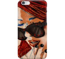 Contrecoup ( counter-blow) iPhone Case/Skin
