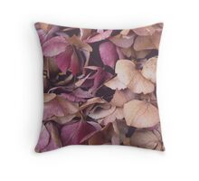 Hydrangea (Available in iPhone, iPod & iPad cases) Throw Pillow