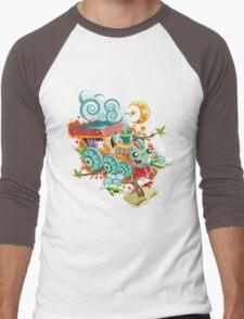 Little Train Men's Baseball ¾ T-Shirt