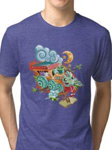 Little Train Tri-blend T-Shirt