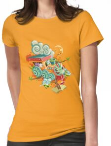 Little Train Womens Fitted T-Shirt