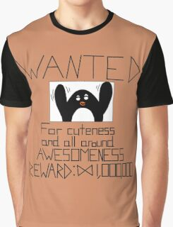 Wanted Penguin Graphic T-Shirt