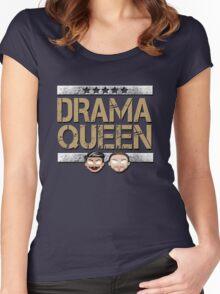 "WWE NXT The Vaudevillains ""Drama Queen"" Women's Fitted Scoop T-Shirt"