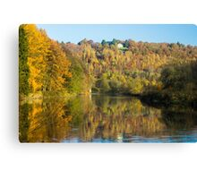 The House in the Woods - Travel Photography Canvas Print