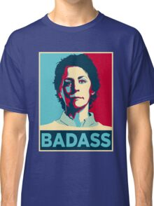 CAROL PELETIER BADASS (The Walking Dead) Classic T-Shirt