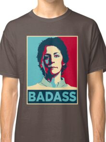 CAROL PELETIER BADASS (The Walking Dead) Classic T-Shirt