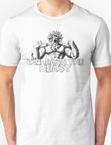 Broly- UNLEASH THE BEAST! Limited Edition Design  T-Shirt