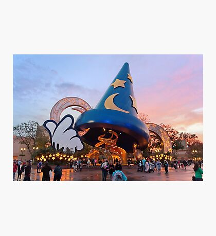 Hollywood Studios After the Rain Photographic Print