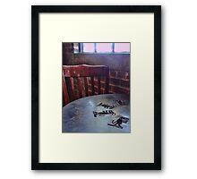 Aztec Table Framed Print
