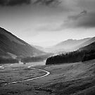 Moffat Water from near the Grey Mare's Tail, Dumfries and Galloway by Iain MacLean
