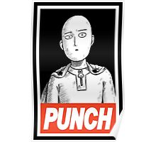 One Punch Man (OBEY) Poster