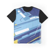 Symphony in Blue ( movement 4 - 1 ) Graphic T-Shirt