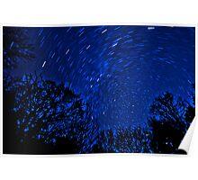 Circling Stars Poster