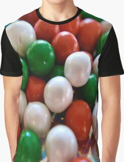 Christmas Candy Graphic T-Shirt