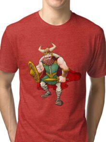 Viking Warrior Tri-blend T-Shirt
