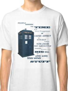 Doctor Who Timey Wimey Classic T-Shirt