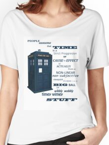 Doctor Who Timey Wimey Women's Relaxed Fit T-Shirt
