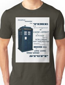 Doctor Who Timey Wimey Unisex T-Shirt