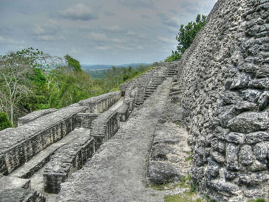 Xunantunich Mayan Ruin in Belize, Central America by 242Digital