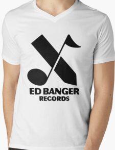 Ed Banger Records - Logo Mens V-Neck T-Shirt