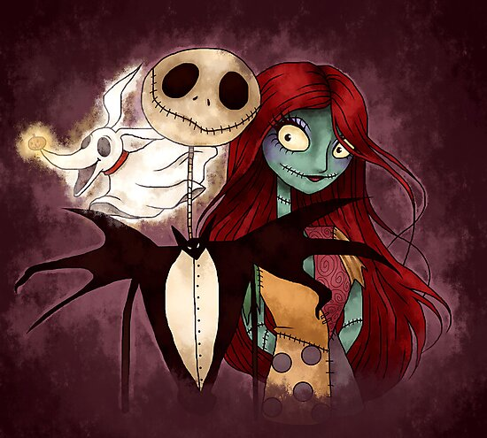 The Nightmare Before Christmas by Lauren Draghetti