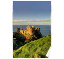 Dunluce Castle Ruins Poster