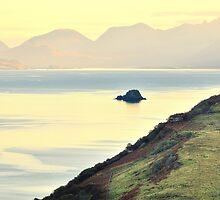 Isle of Skye overlooking the Sound of Raasay by Steve