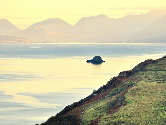 Isle of Skye overlooking the Sound of Raasay by Steve