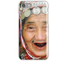 Akha Hilltribe Woman iPhone Case/Skin