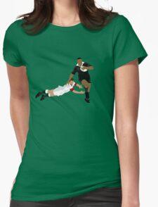 Jonah Lomu (1975-2015) Womens Fitted T-Shirt