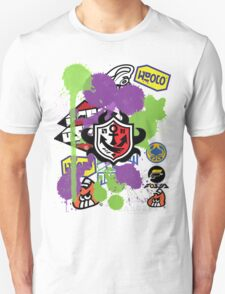 Splatoon Inspired: Ink Splat Brand Unisex T-Shirt
