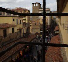 View from Vasari Corridor by Kitrina Arbuckle