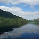 Lake Crescent Washington State by WhiteDiamond