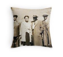 Zoot Suits! Throw Pillow