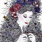 Fair Flora by Mariya Olshevska