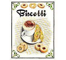 BISCOTTI Photographic Print