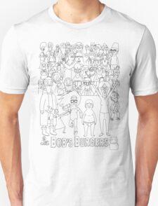 Characters of Bobs Burgers T-Shirt