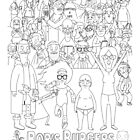 Characters of Bobs Burgers by FrannyGlass
