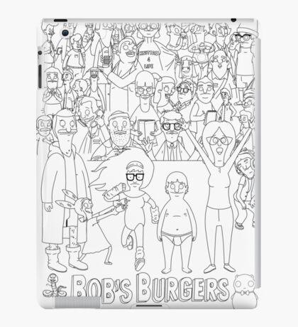 Characters of Bobs Burgers iPad Case/Skin