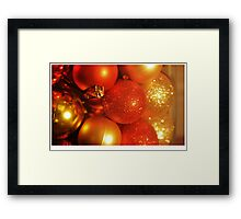 It's beginning to look a lot like.... Framed Print