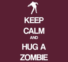Keep Calm and Hug a Zombie T-Shirt