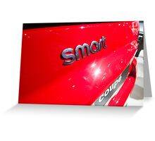 Smart Fortwo mhd Coupe Smart Logo [ Print & iPad / iPod / iPhone Case ] Greeting Card