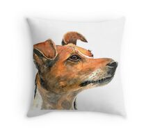 Jack Russell Dog Throw Pillow