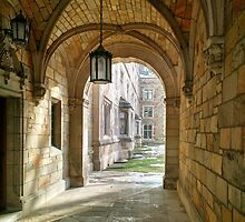 Law Quad at University of Michigan by jrier