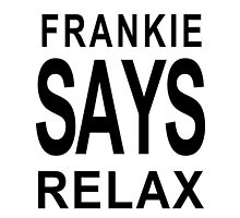 FRANKIE SAY RELAX 80's classic for the ipad by ludlowghostwalk